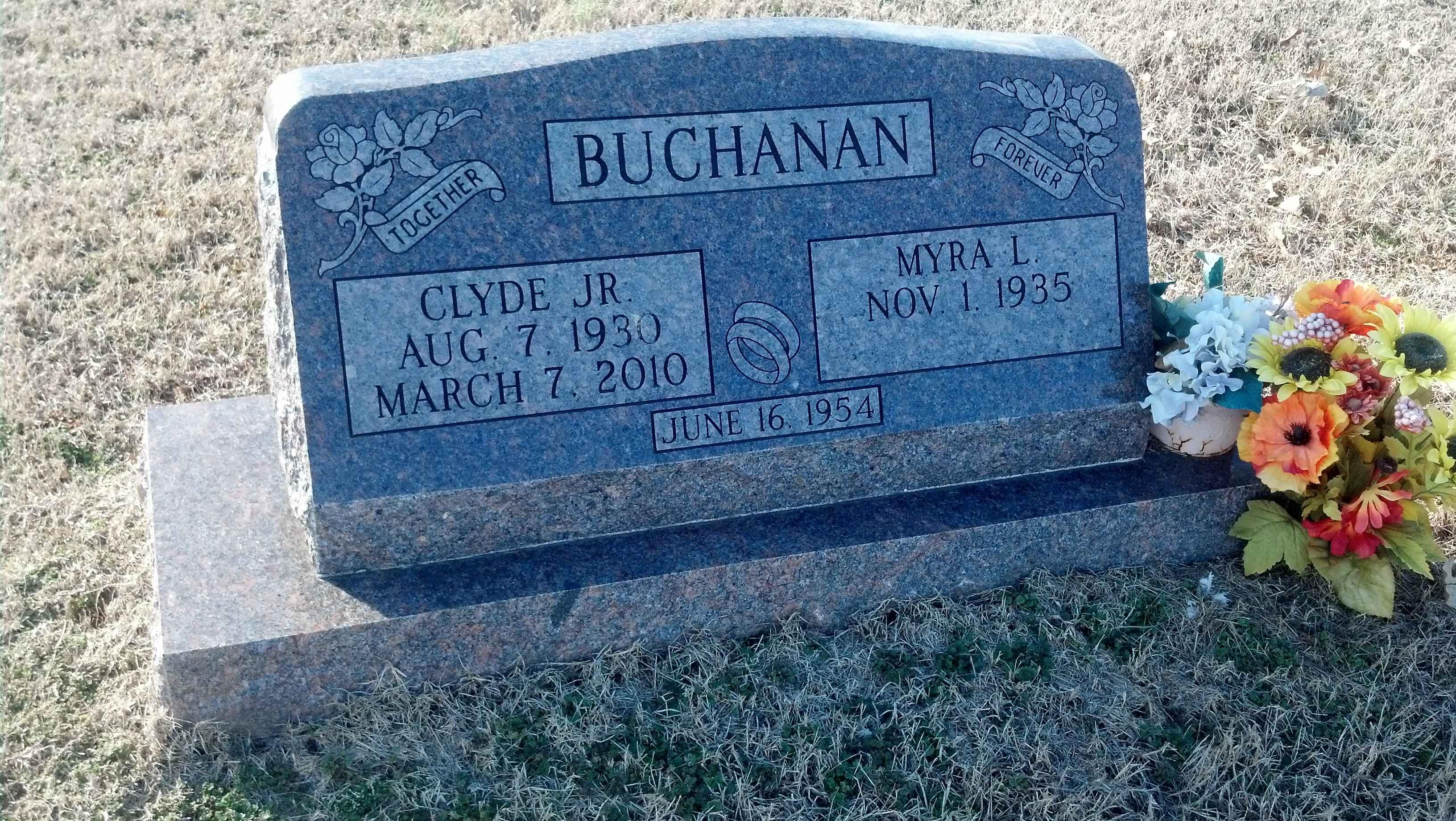 Clyde Buchanan Jr Find A Grave Memorial