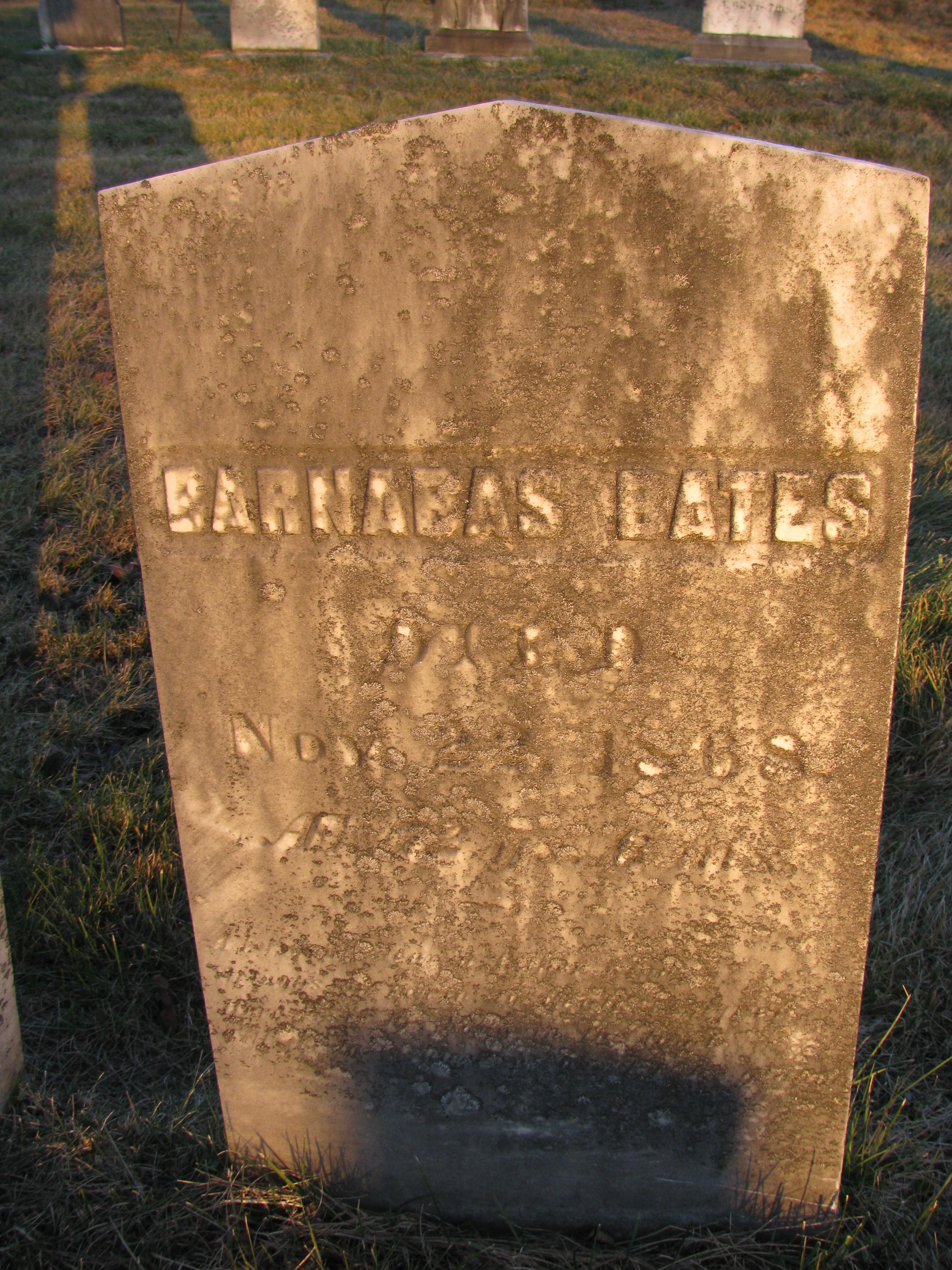 Barnabas Bates