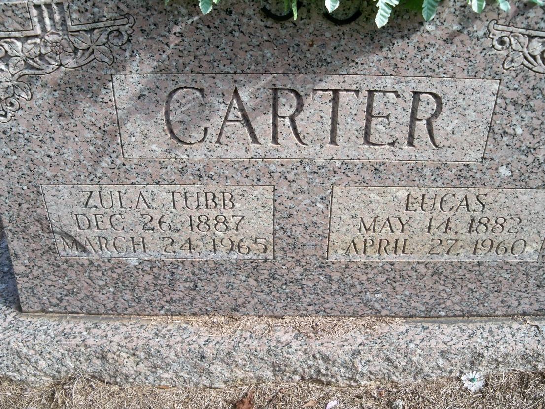 Zula <i>Tubb</i> Carter