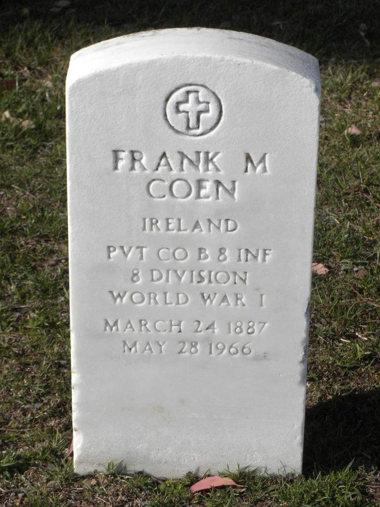 Frank M Coen