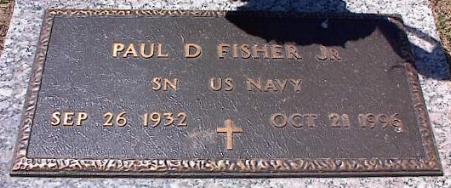 Paul D Fisher, Jr