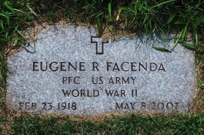 PFC Eugene R Facenda