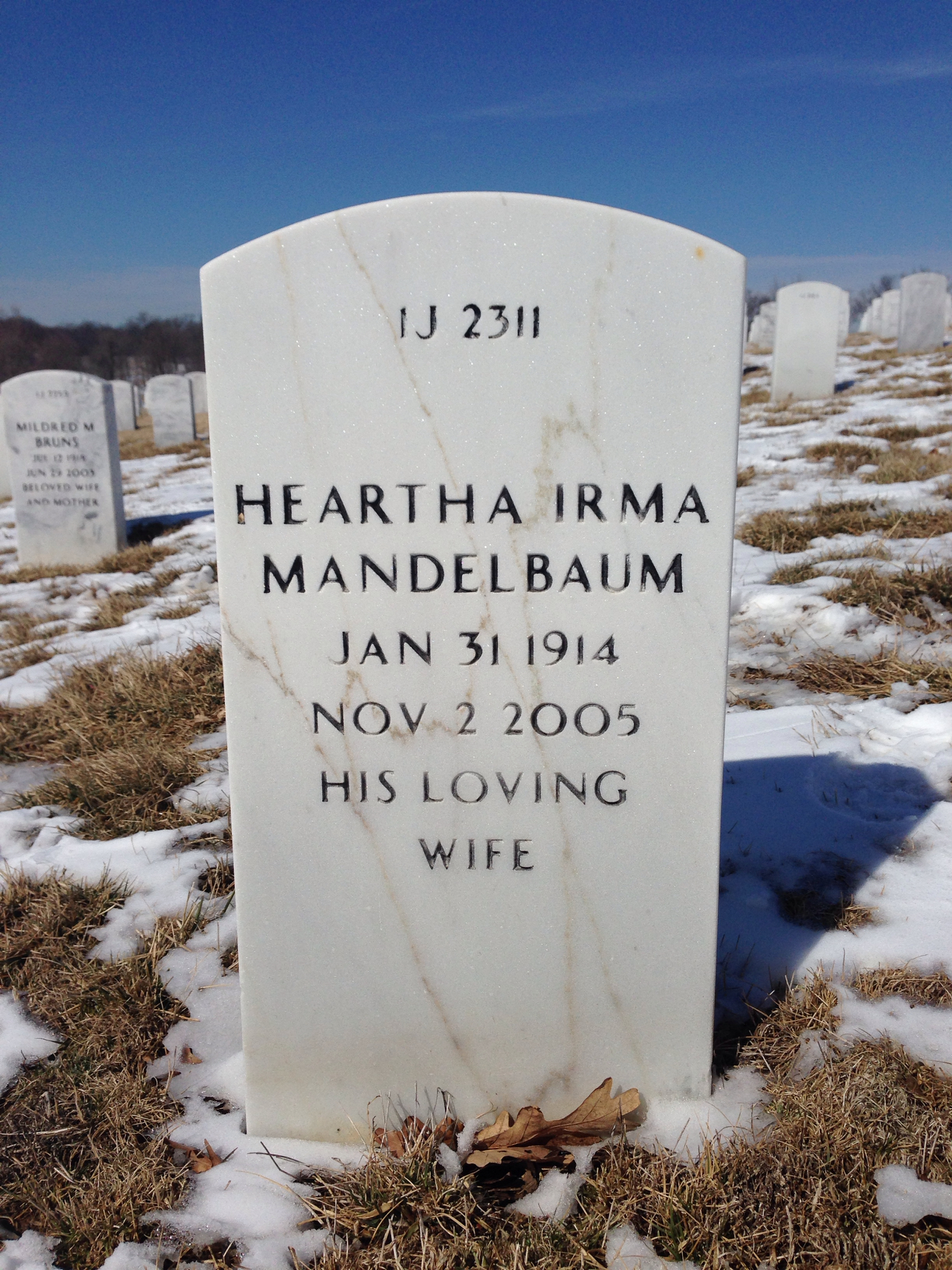 Heartha Irma Mandelbaum