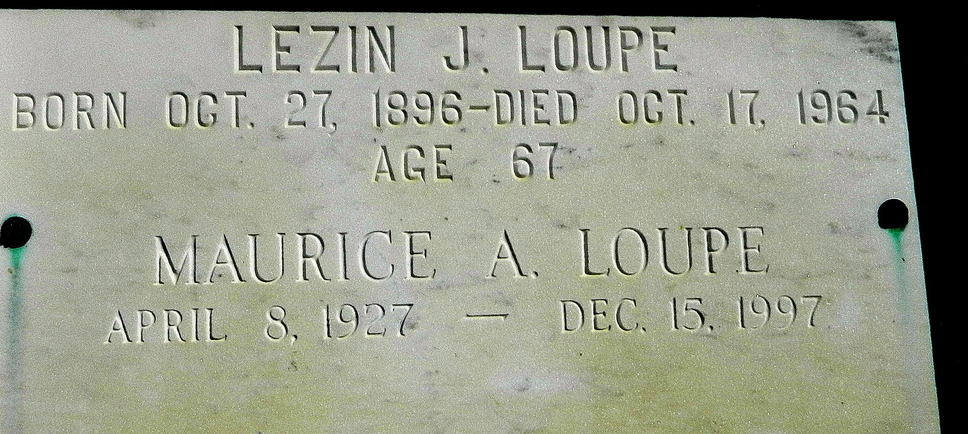 Lezin Joseph Loupe