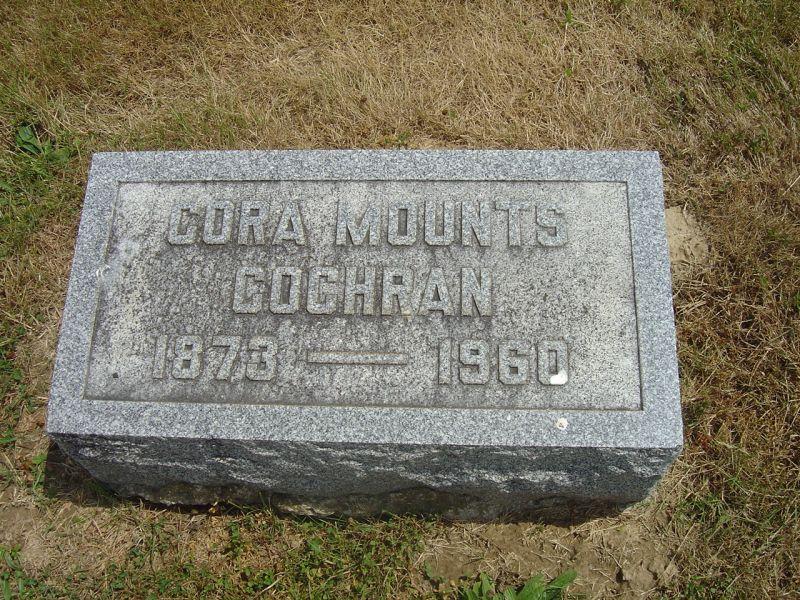 Cora <i>Mounts</i> Cochran