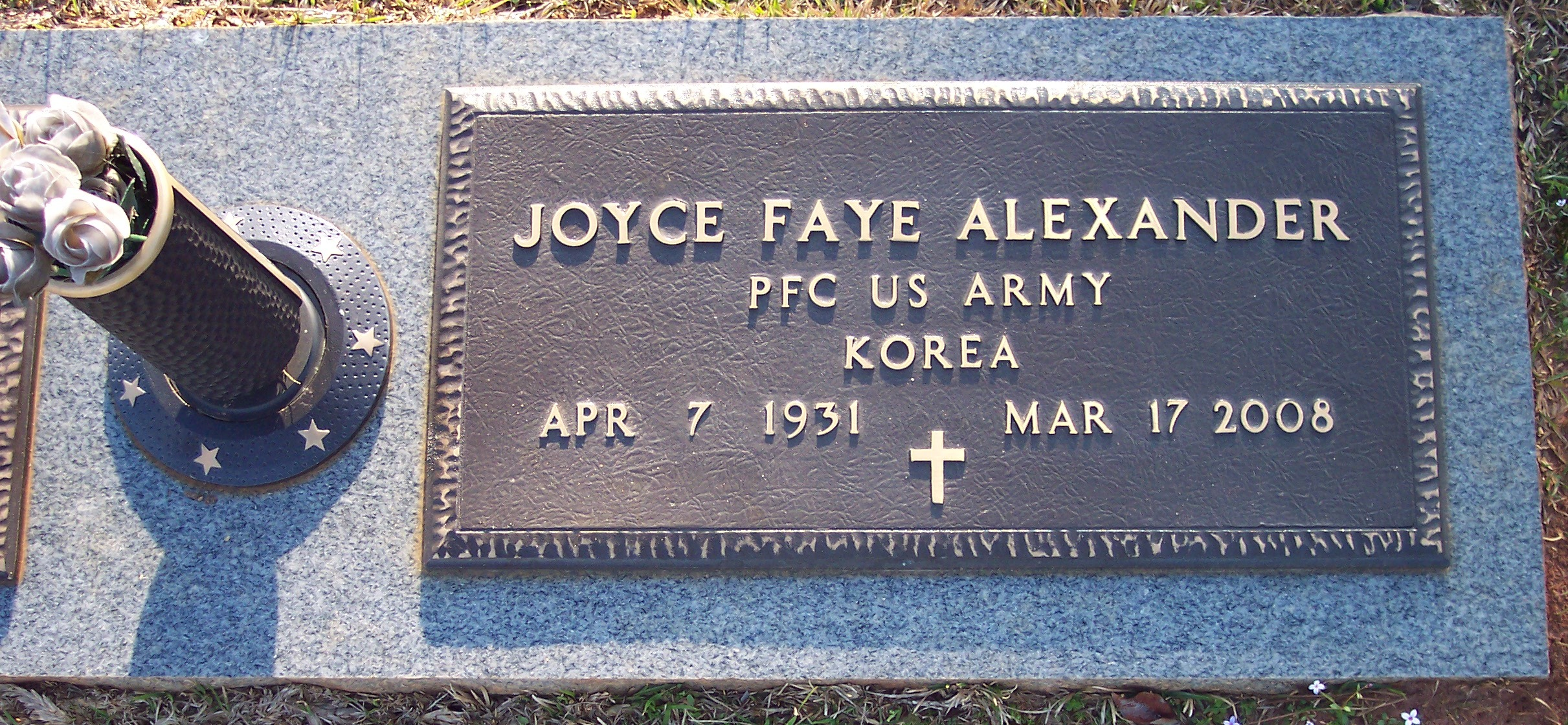 Joyce Faye <i>Allman</i> Alexander