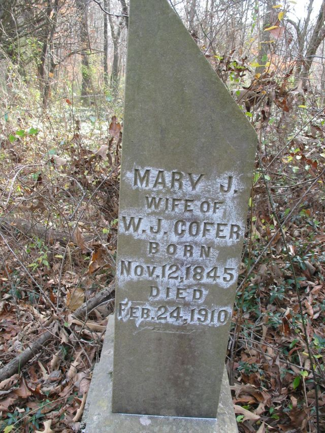 Mary Jane <i>Cooper</i> Cofer