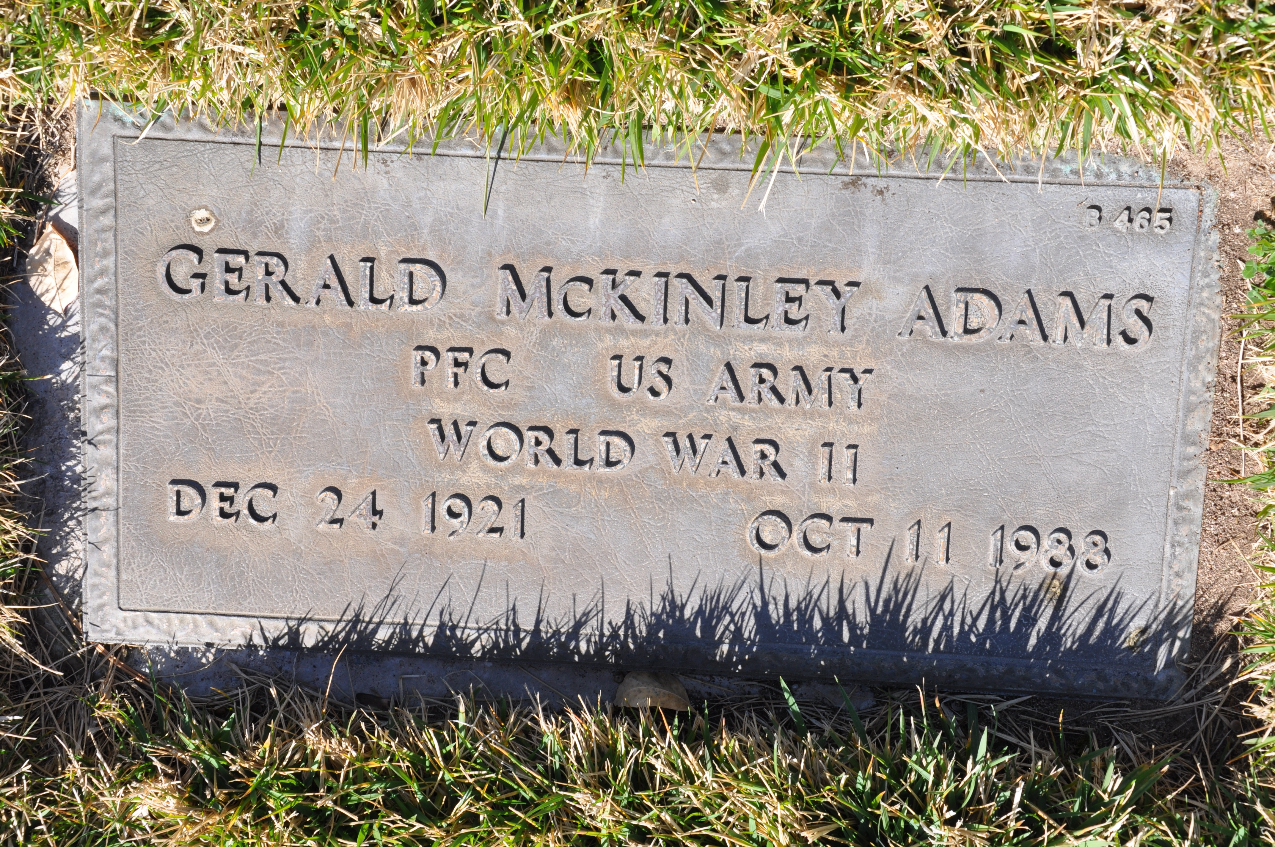 Gerald McKinley Adams