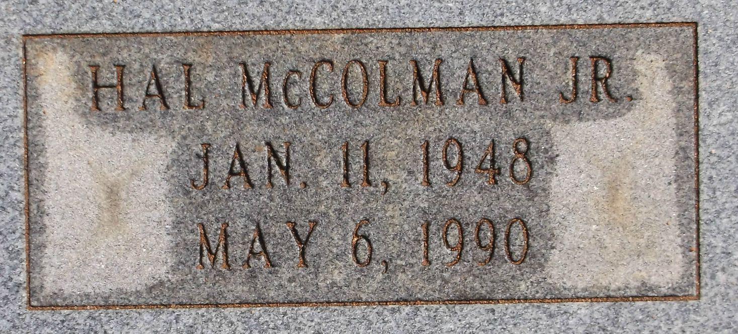 Hal McColman Adams, Jr