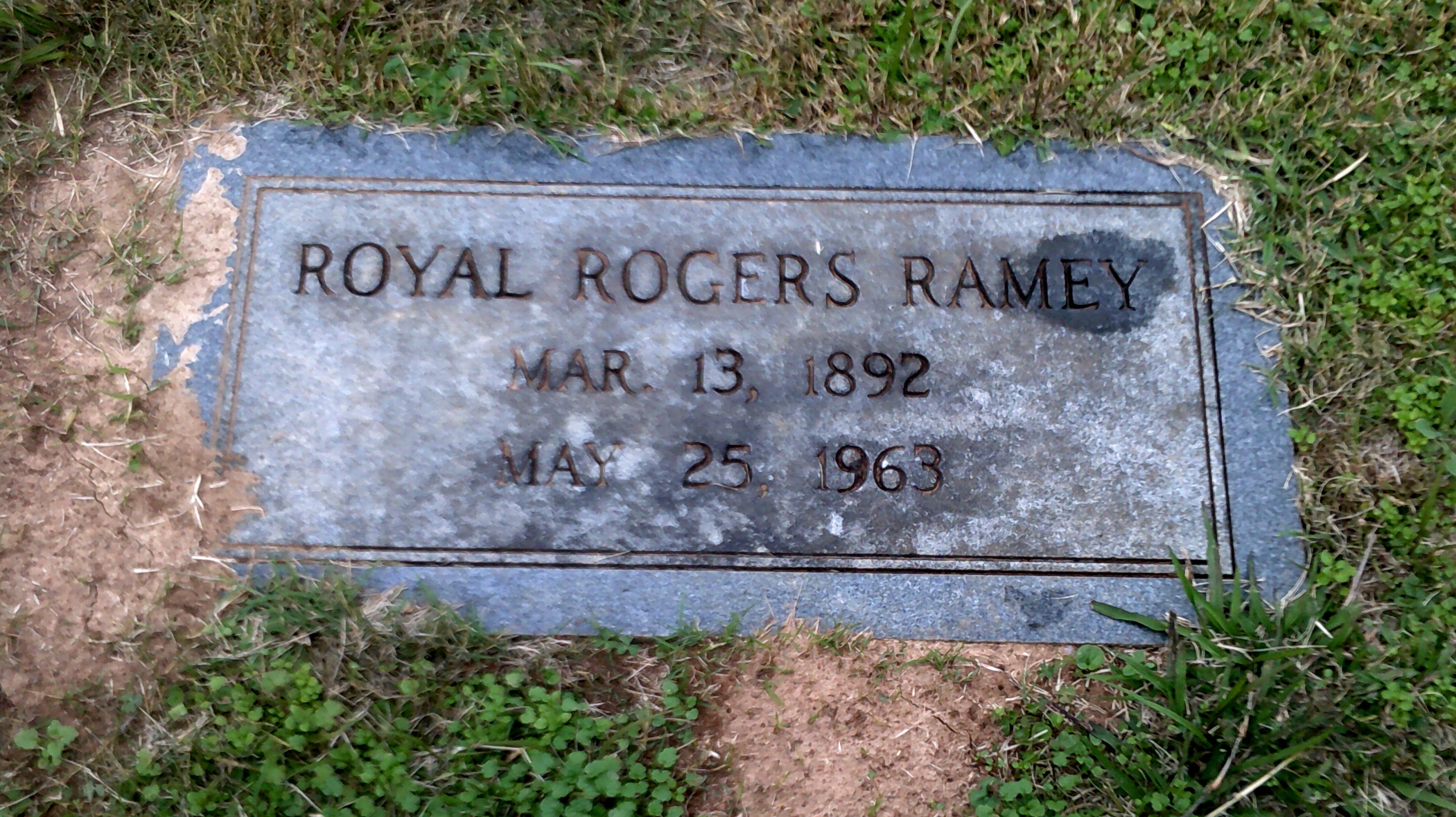 Dr Royal Rogers Ramey