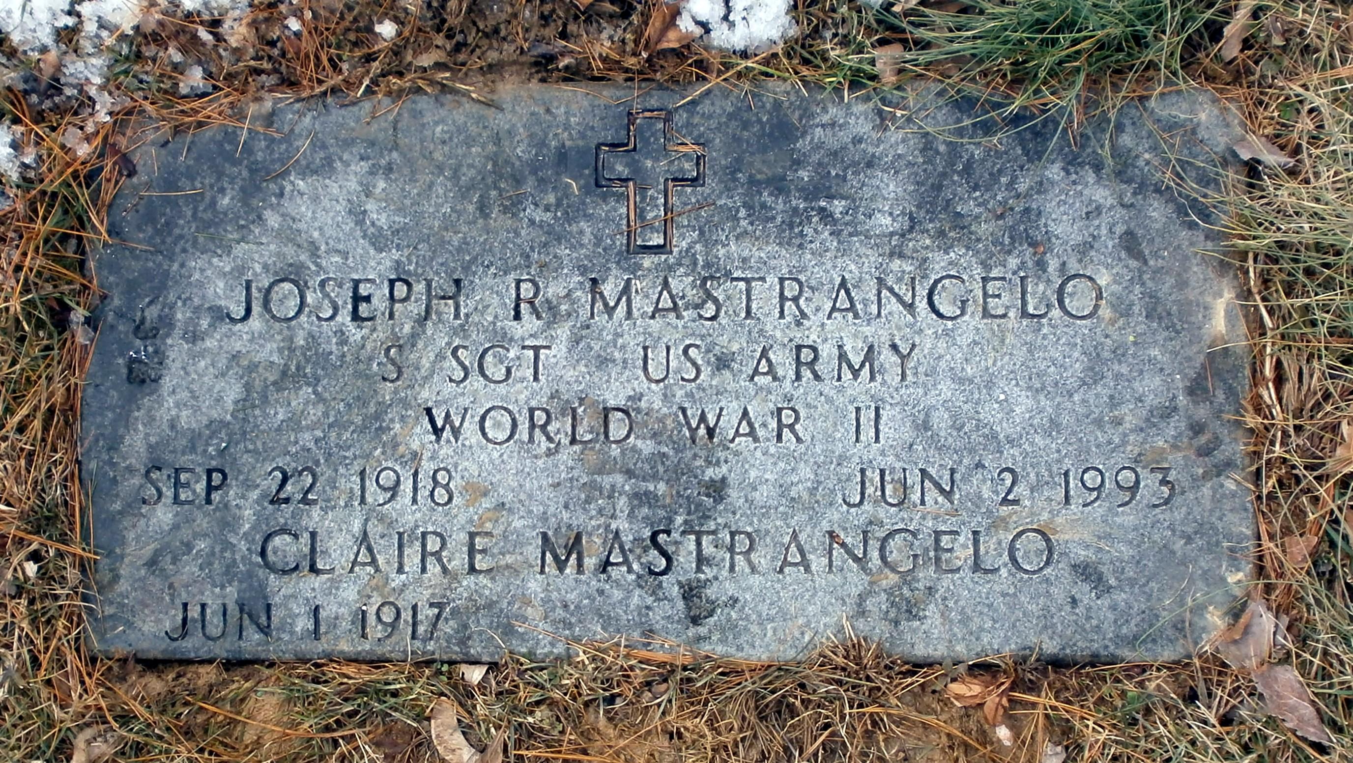Joseph R Joe Mastrangelo