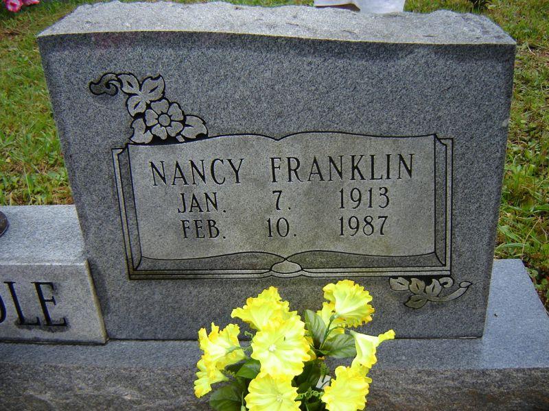 Nancy <i>Franklin</i> Brendle