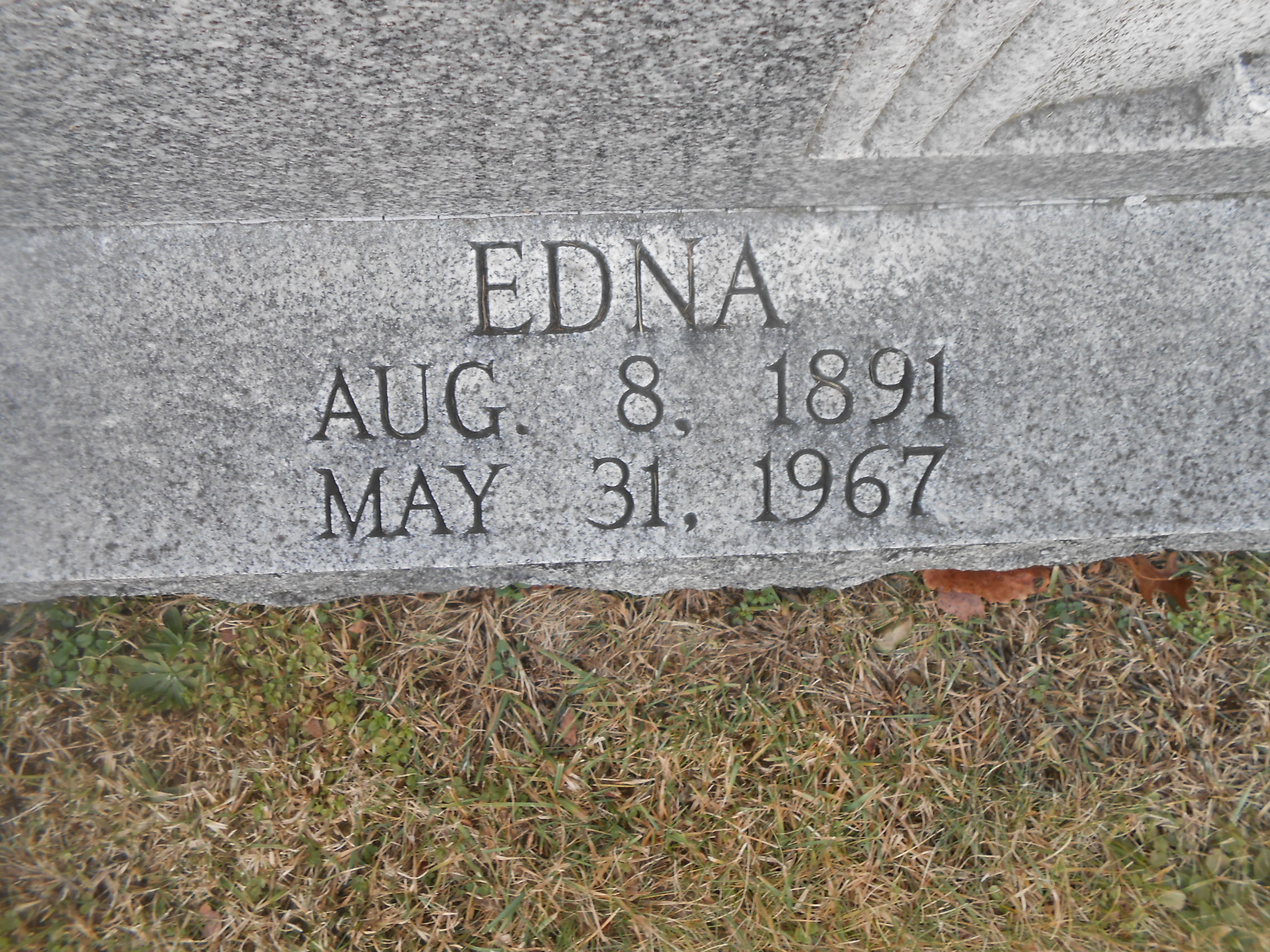 Edna <i>Wagner</i> Craig