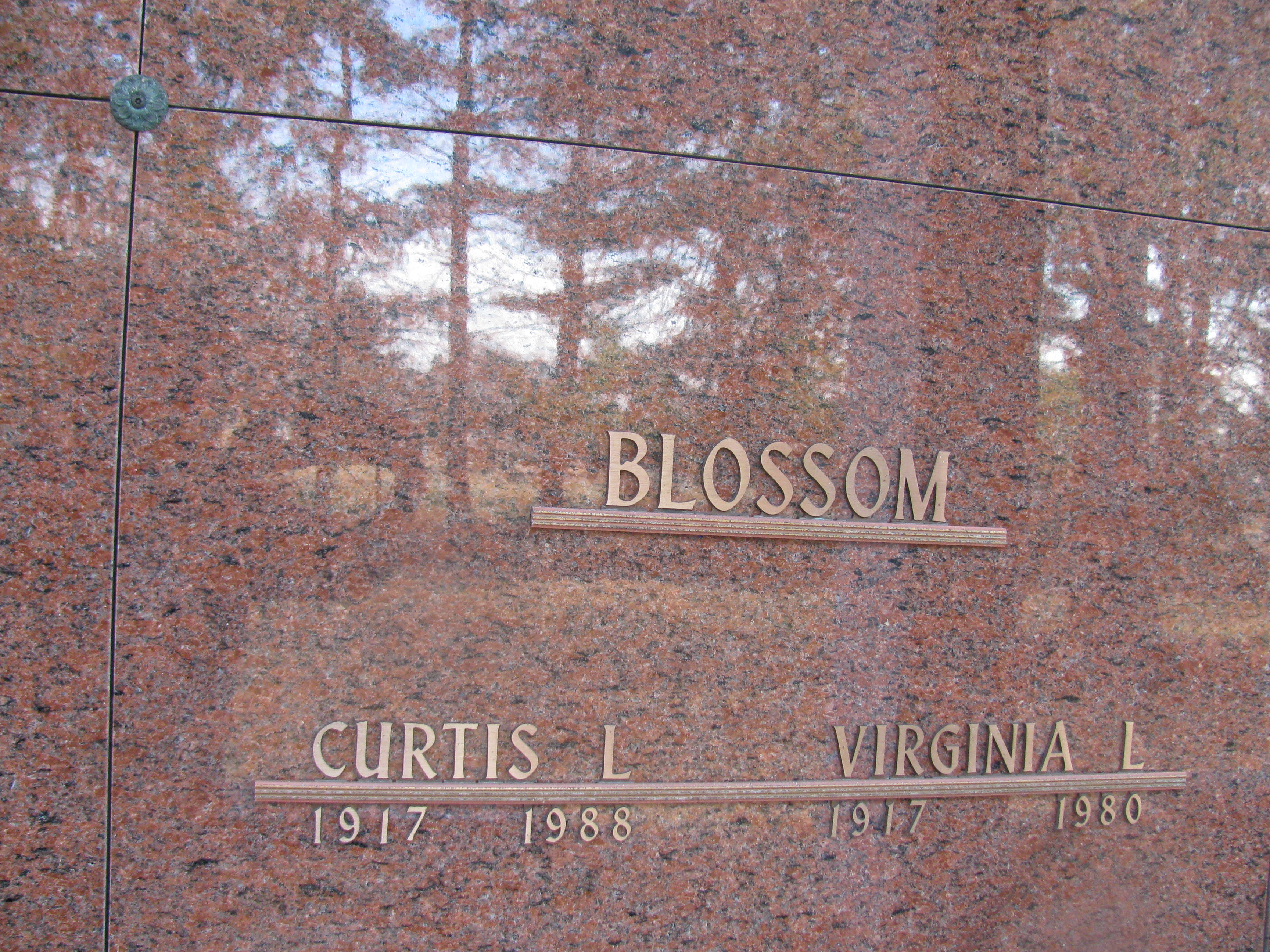 Curtis L Blossom
