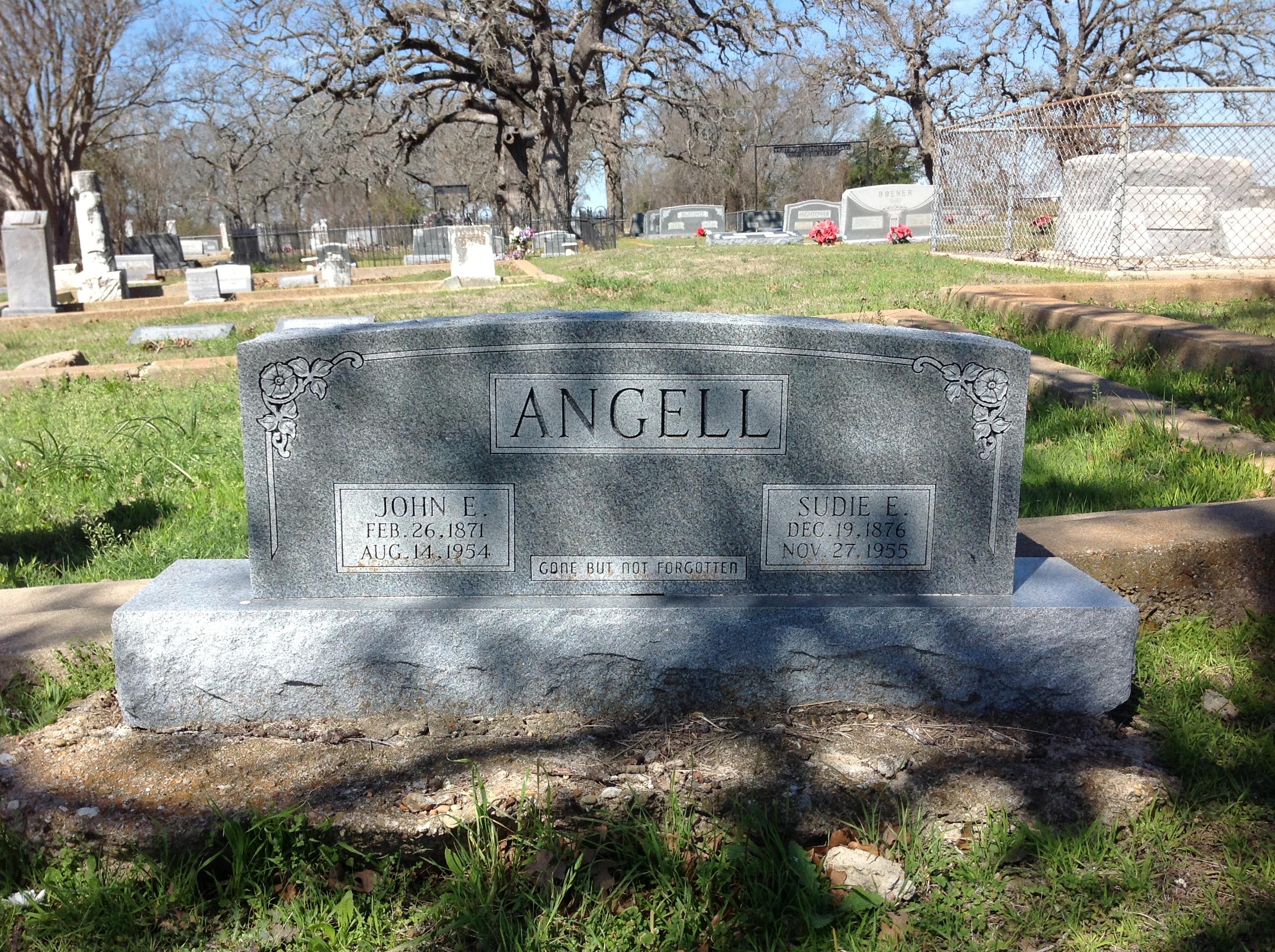 Sudie Elizabeth <i>Fuller</i> Angell