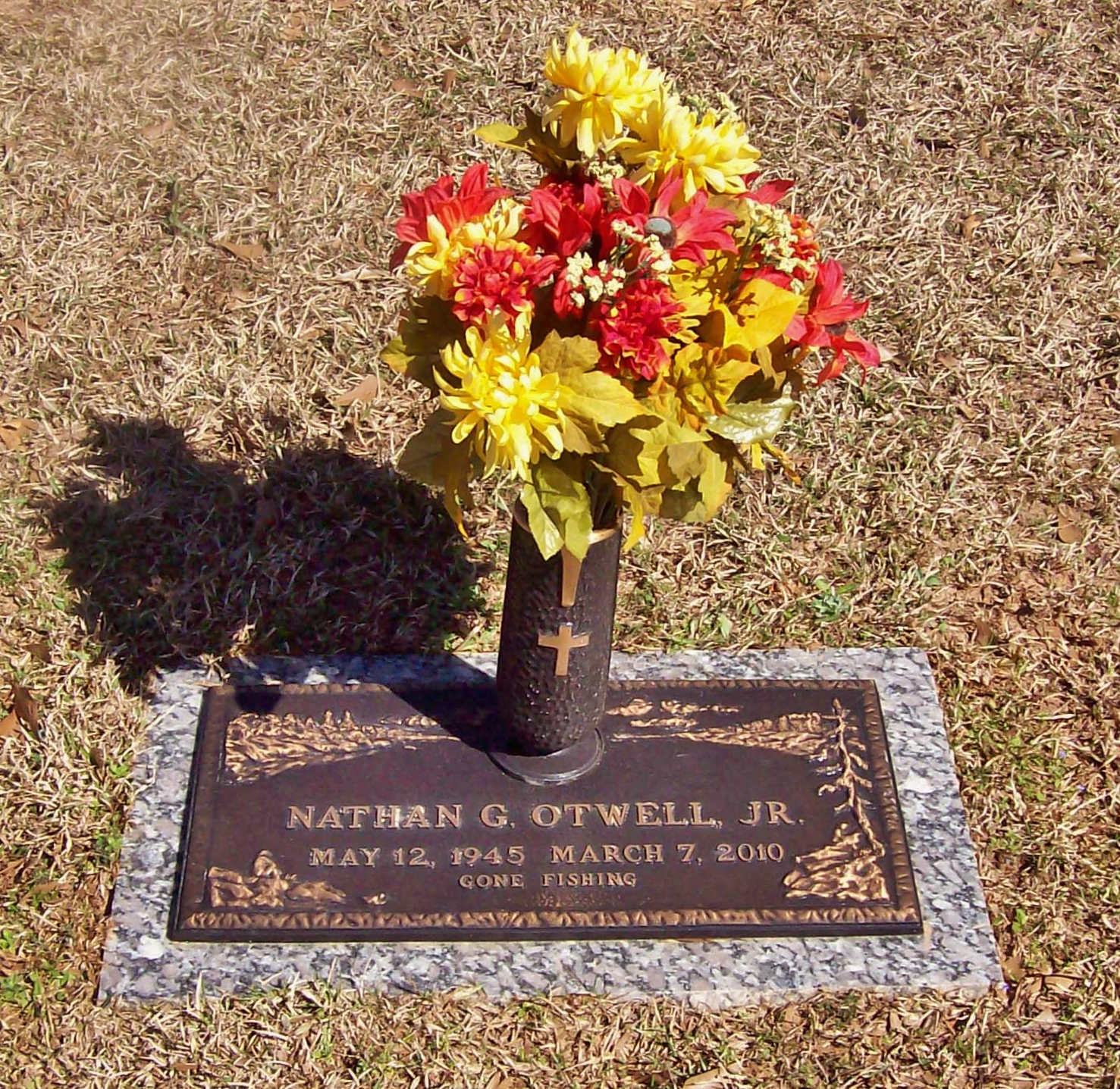 """Nathan """"Junior"""" Otwell (1945-2010) - Find A Grave Memorial"""