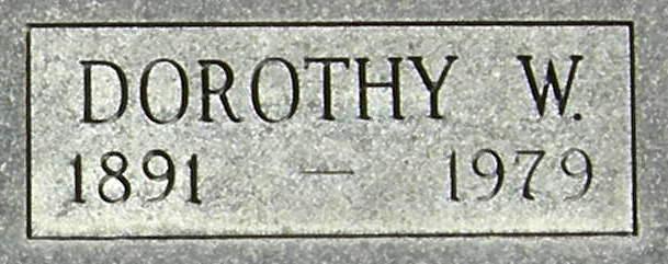 Dorothy W. <i>Wiese</i> Benson