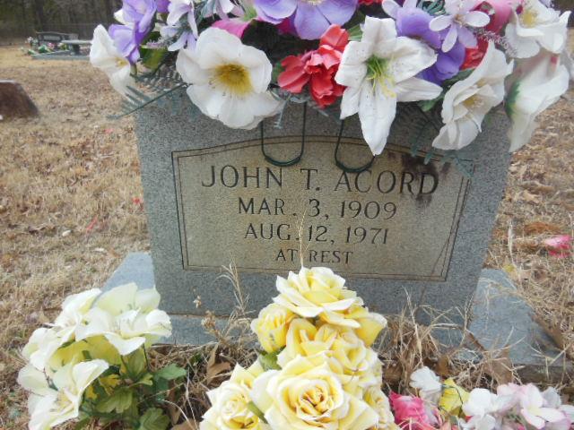John Thomas Acord