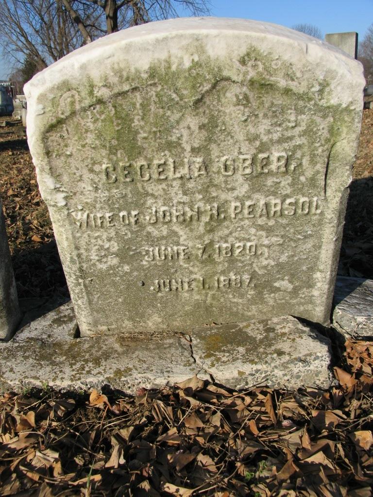 Cecelia I <i>Ober</i> Pearsol