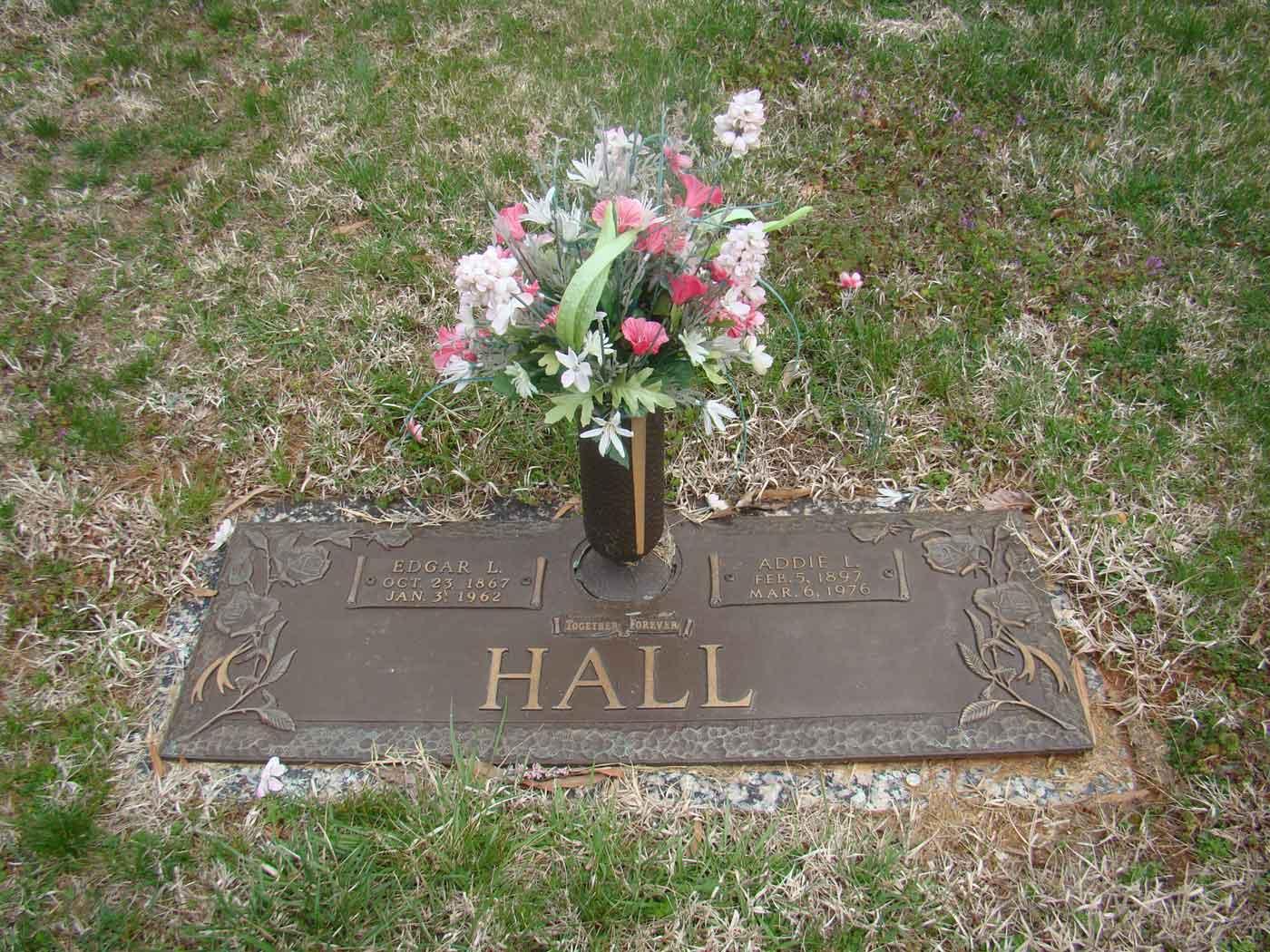 Addie Lena <i>Nash</i> Hall