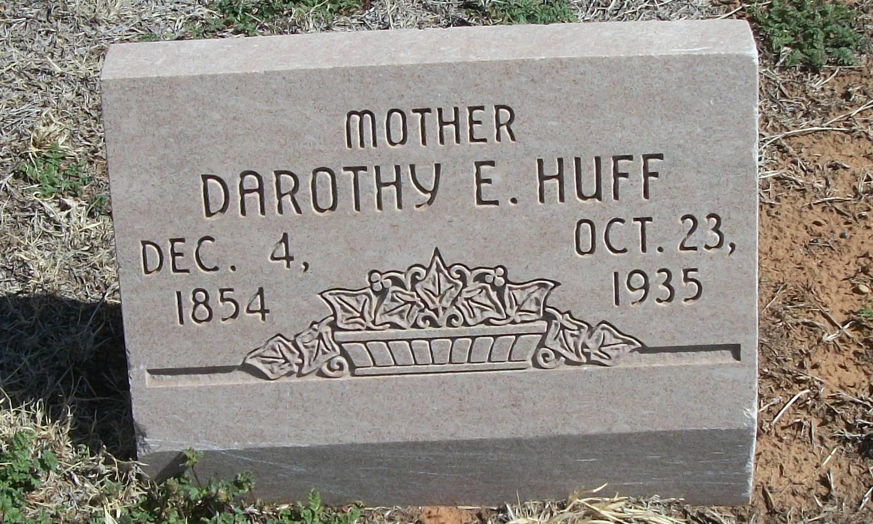 Darothy Emily <i>Creswell</i> Huff