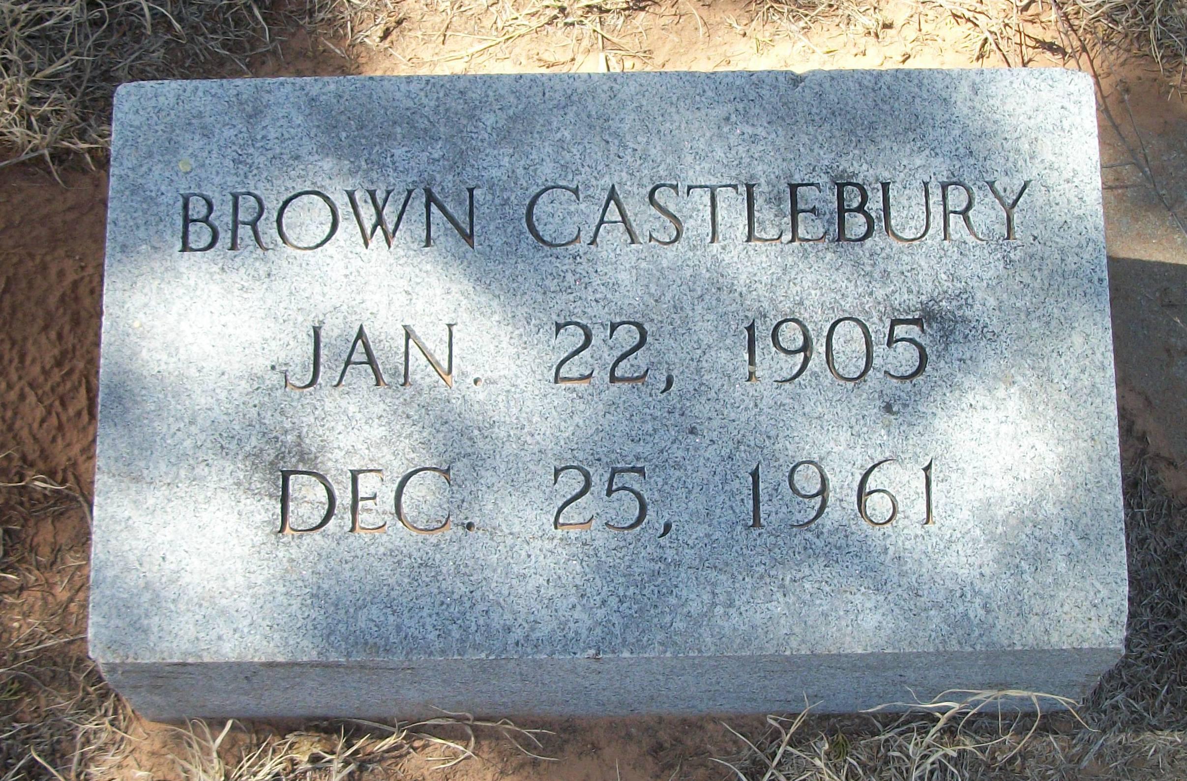 Brown Castlebury