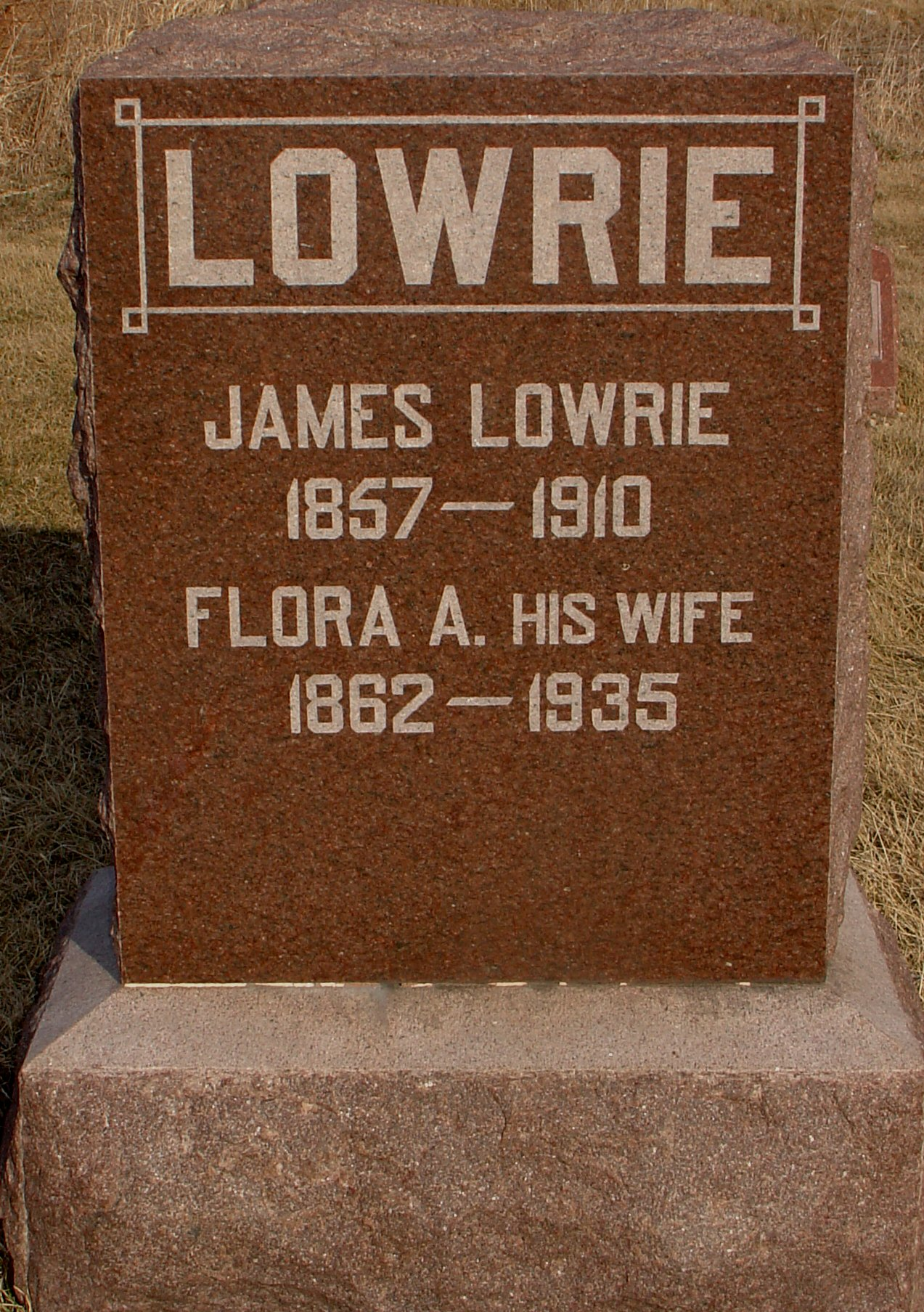 Flora A. Lowrie