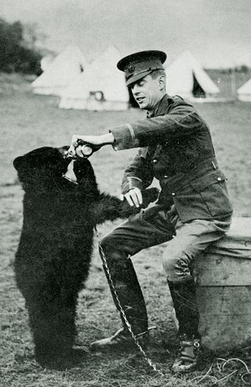 Maj Harry Colebourn