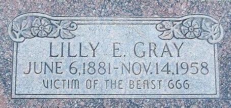 Lilly Edith <i>Zimmerman</i> Gray