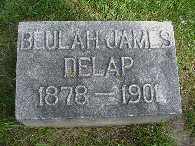 Beulah Louise <i>James</i> DeLap