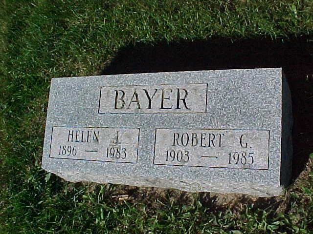 Helen J <i>Judin</i> Bayer