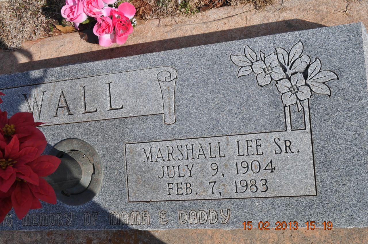 Marshall Lee Wall, Jr