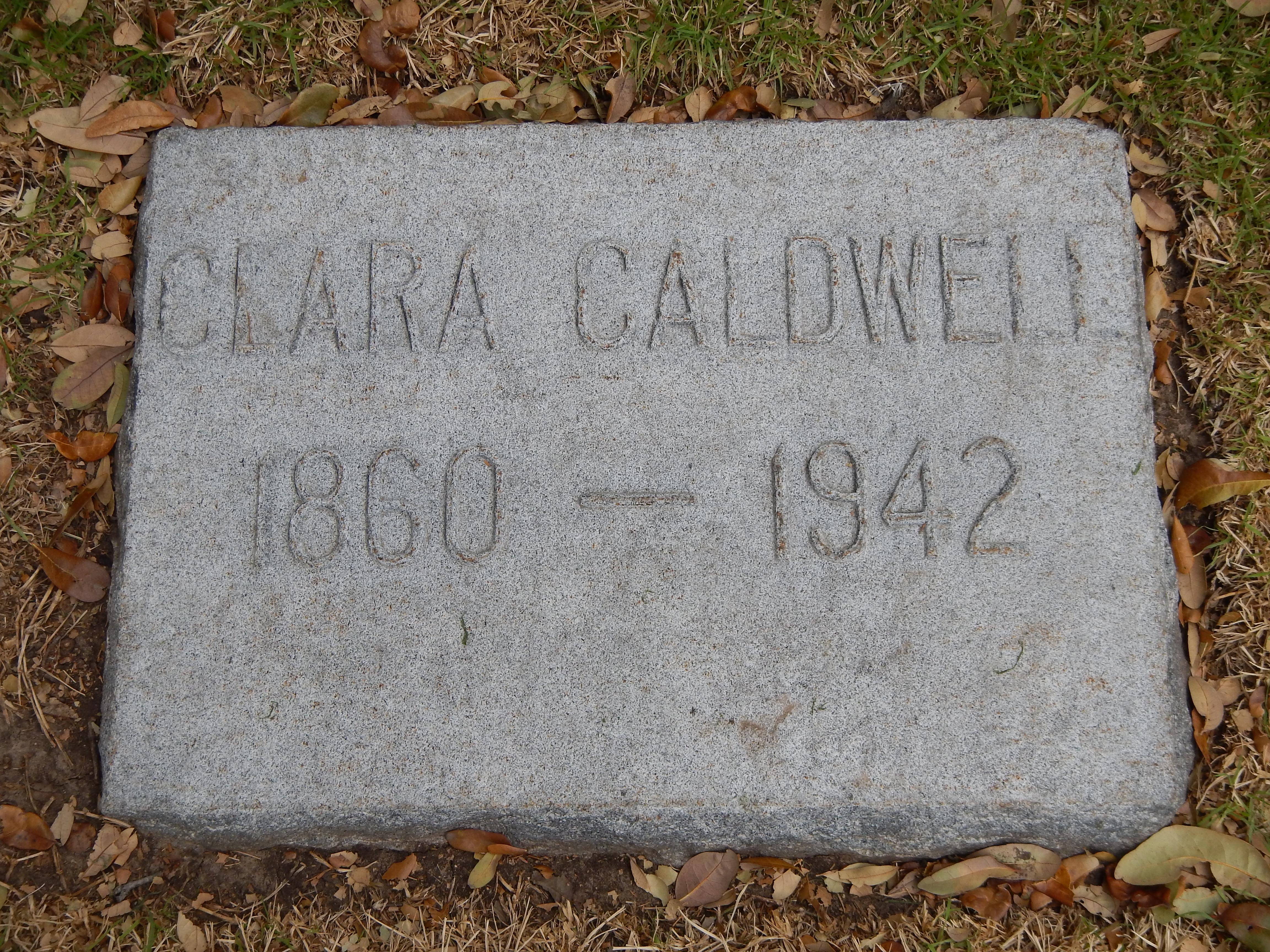 Clara Rachel Orlena Caldwell