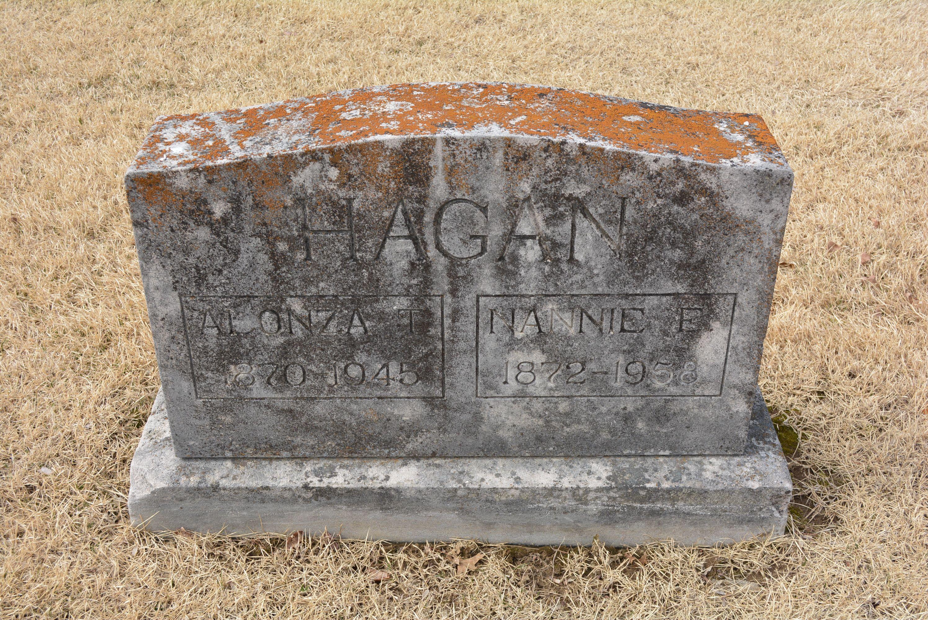 Alonza Thomas Lon Hagan