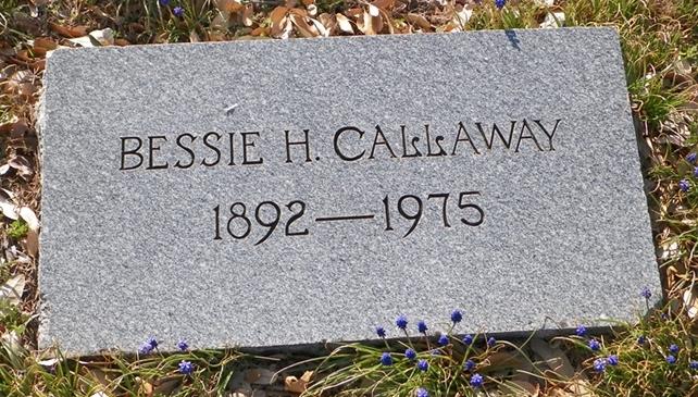 Bessie <i>Hanna</i> Callaway