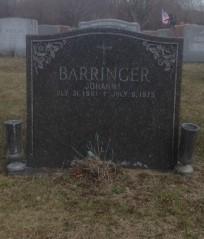 Johannah Annie <i>McCue</i> Barringer