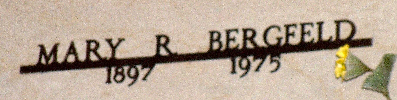 Mary <i>Ratcliff</i> Bergfeld