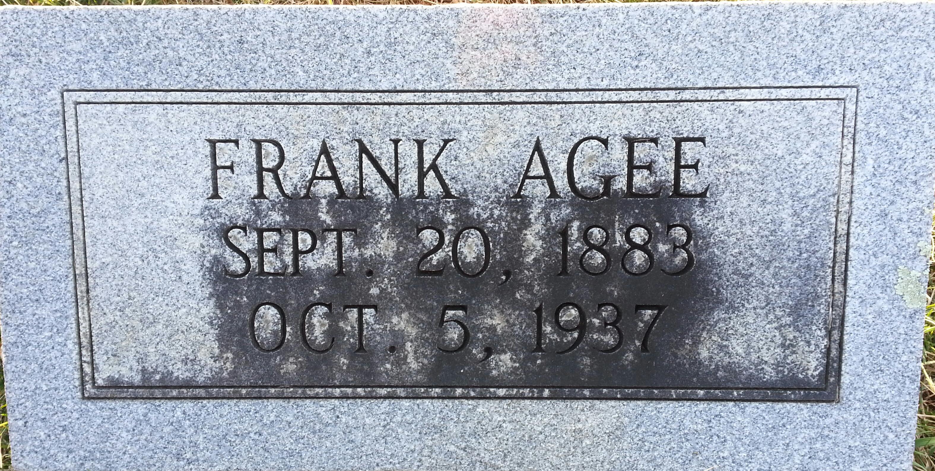 Benjamin Franklin Agee