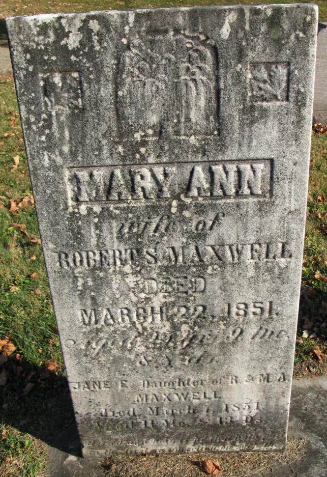 Mary Ann <i>Owston</i> Maxwell