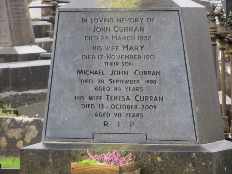 Died 12 October 1998