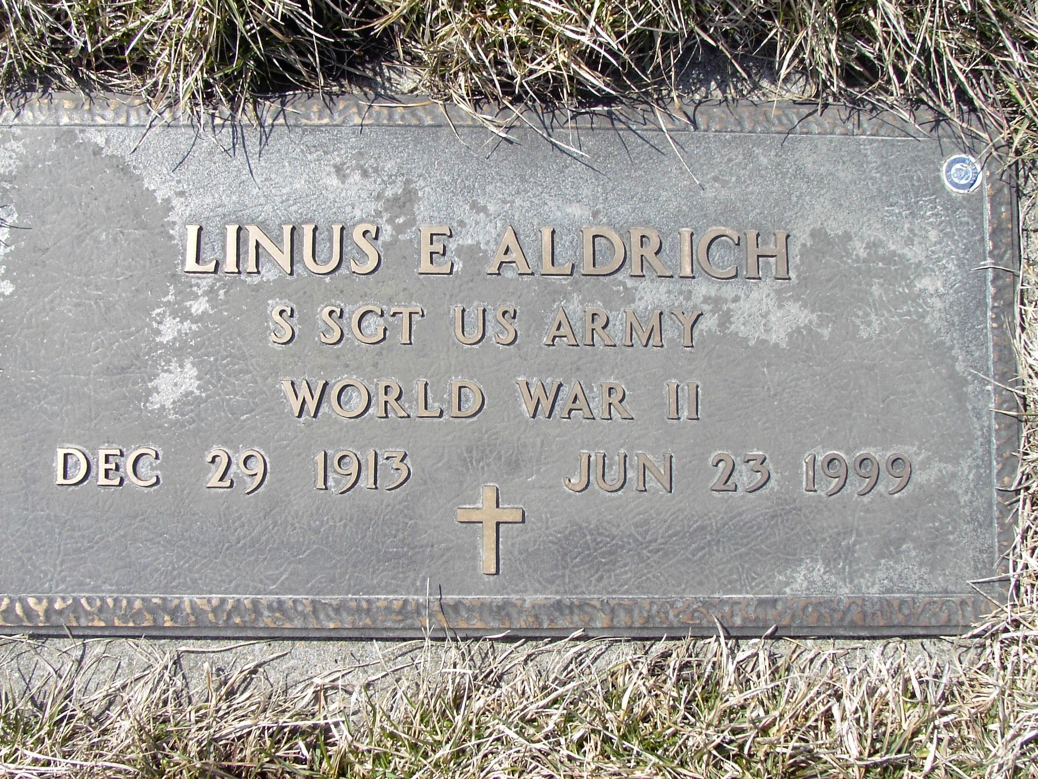Linus Evan Shorty Aldrich