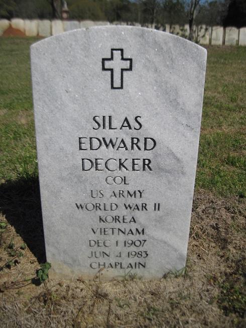 Silas Edward Decker
