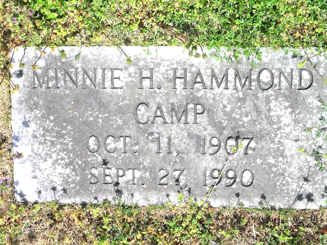 Minnie Lee <i>Hardegree</i> Camp