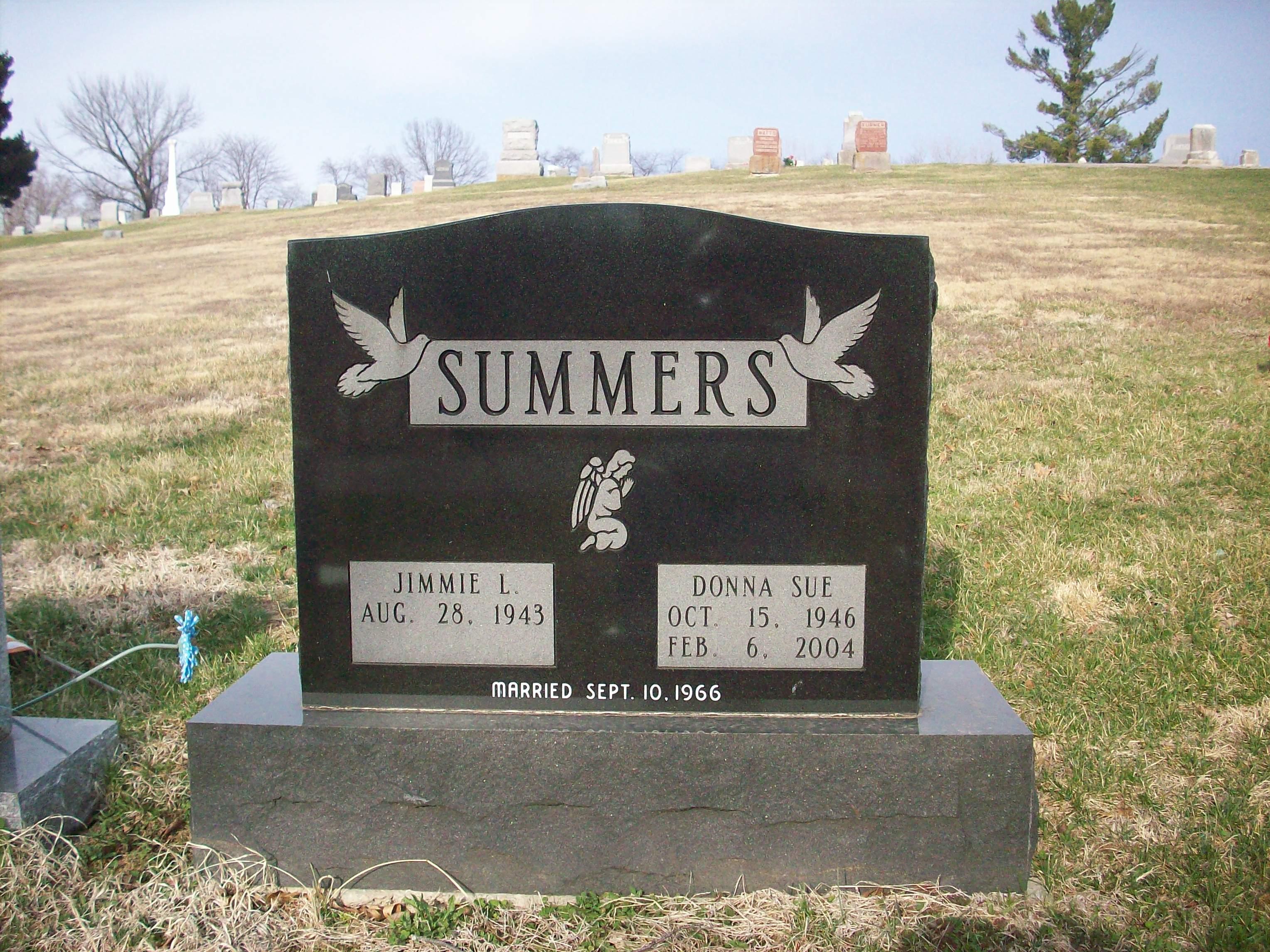 Donna Sue <i>Toney</i> Summers