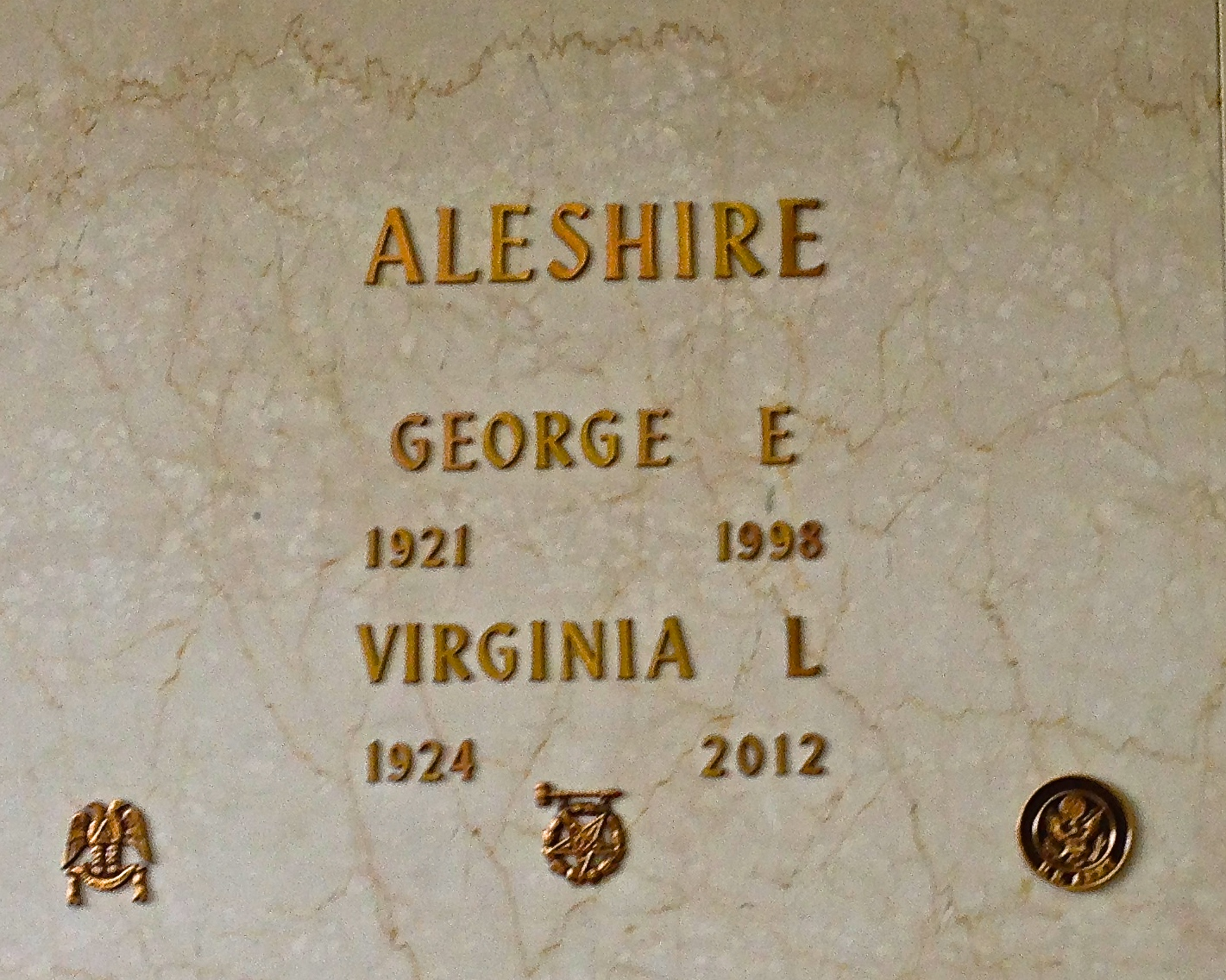 Virginia L  Hoffa Aleshire (1924-2012) - Find A Grave Memorial