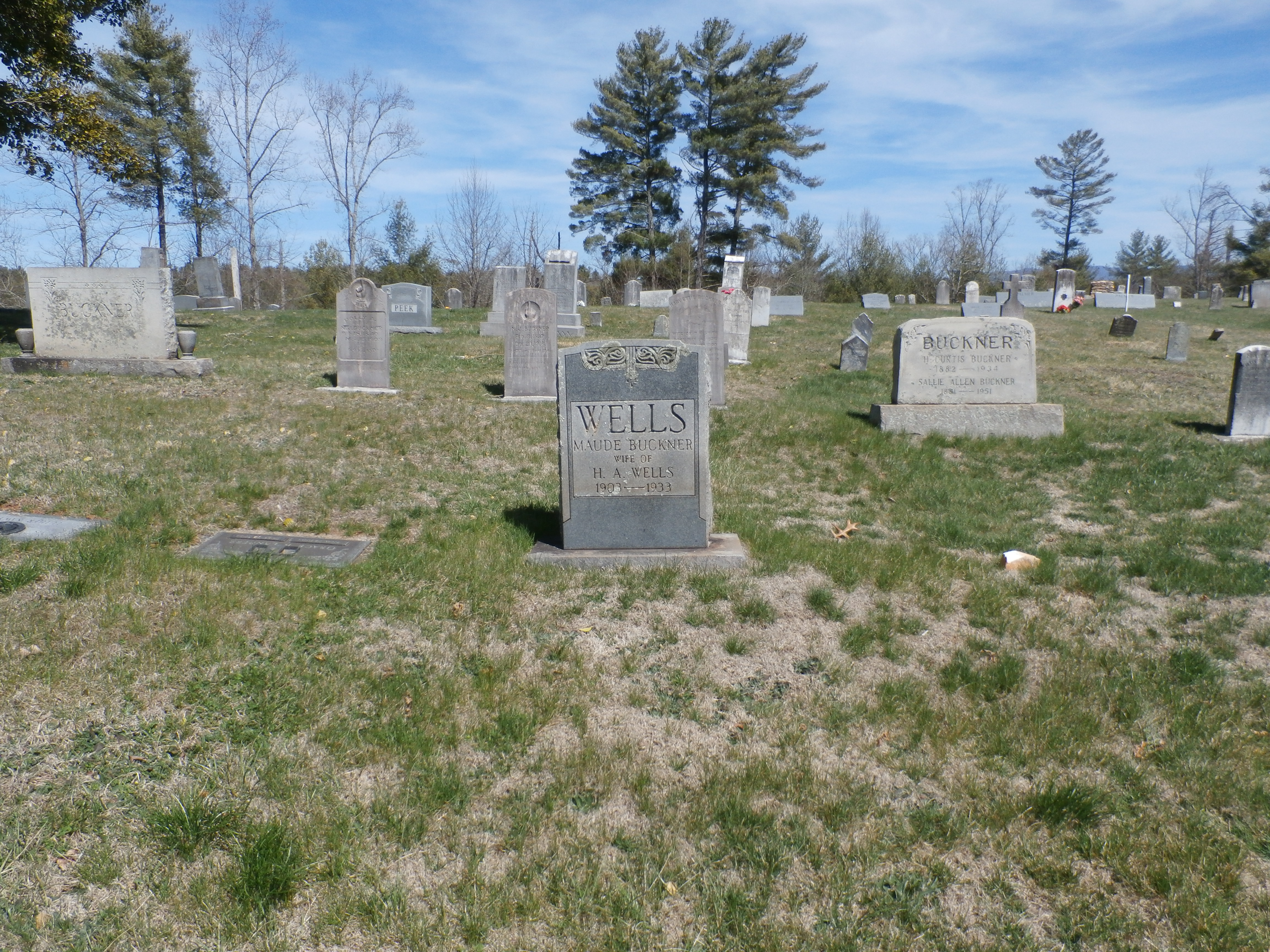 Gabriel's Creek Baptist Church Cemetery