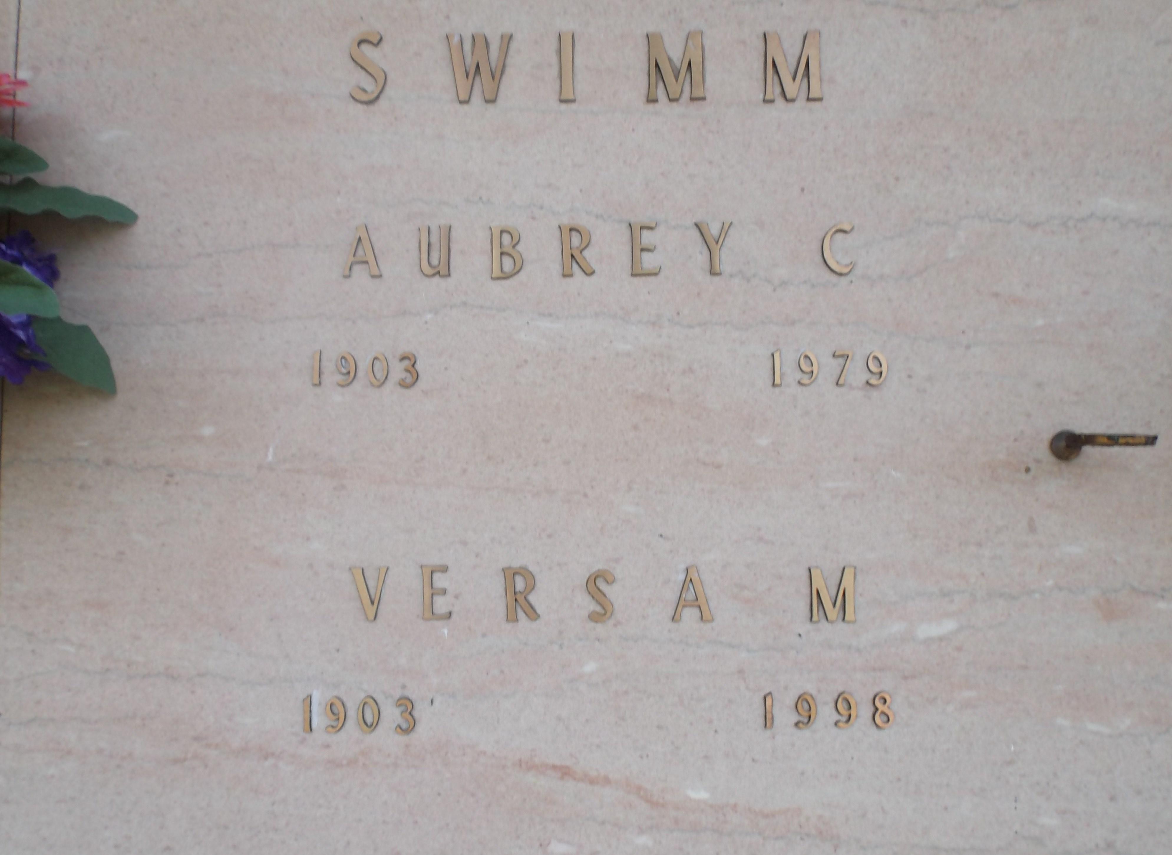 Versa Grace <i>Moore</i> Swimm