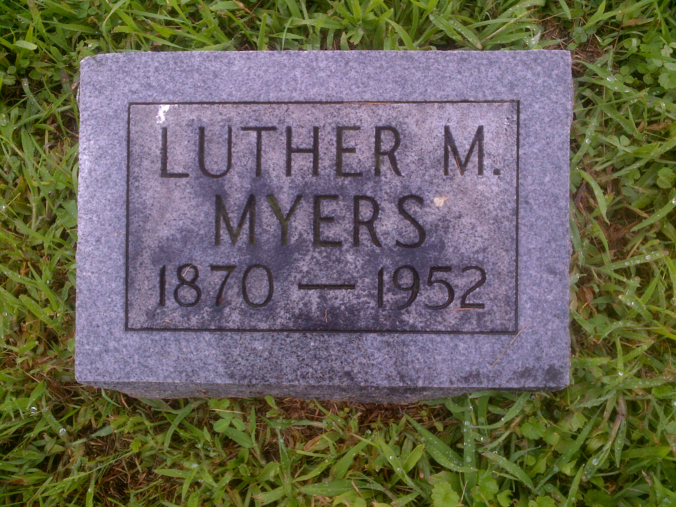 Luther M Myers