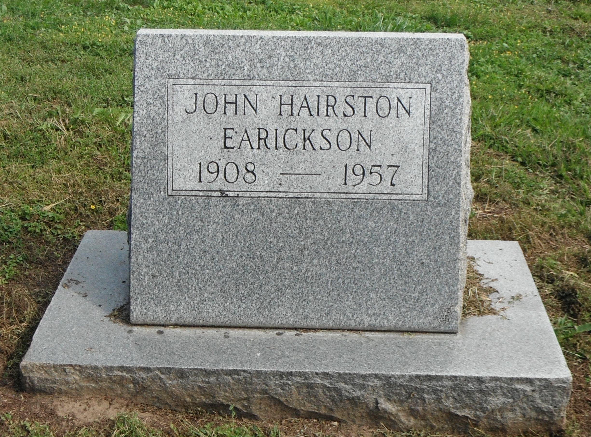 John Hairston Earickson