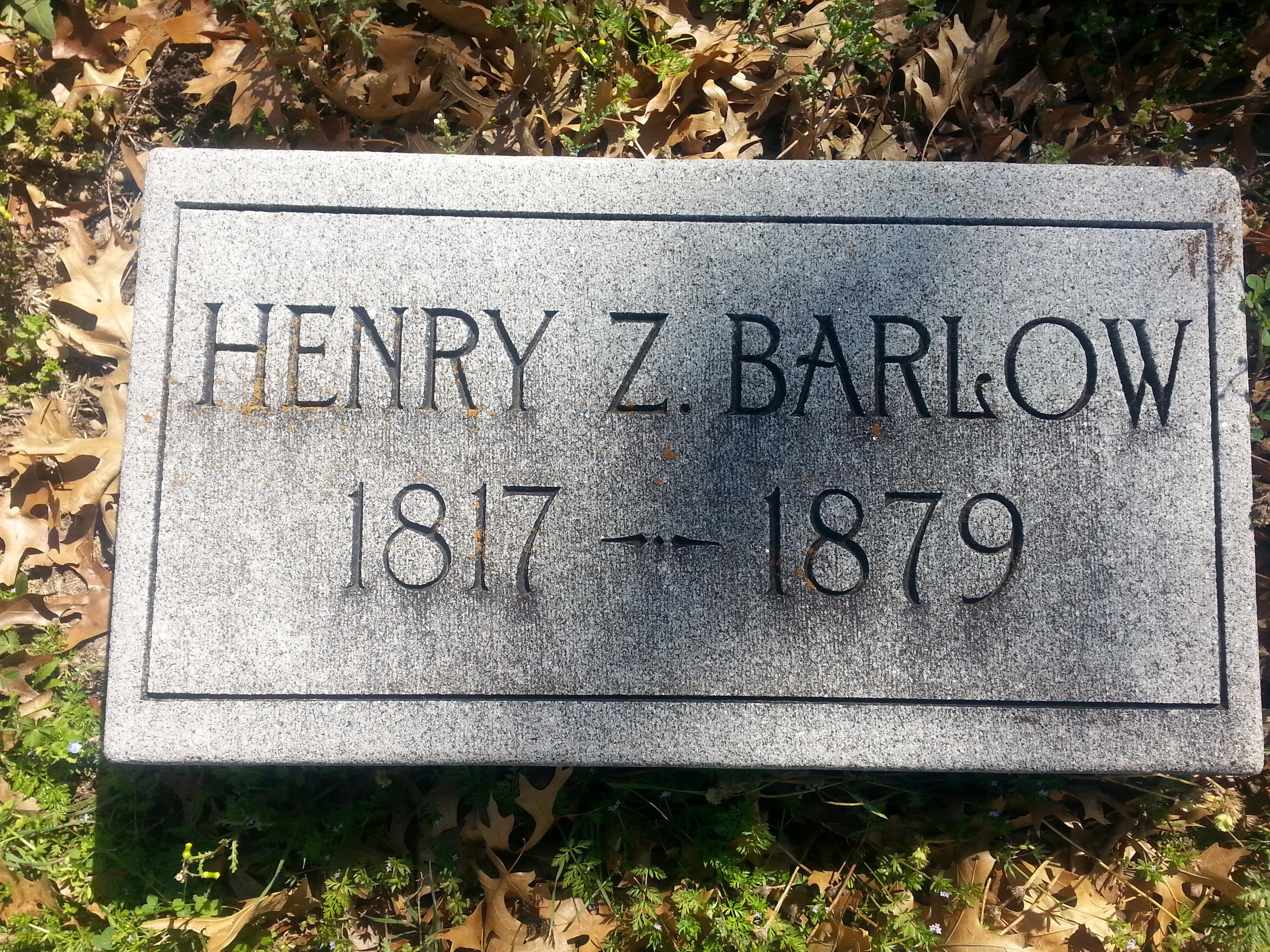 Henry Zair Barlow